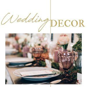 SHOP FOR YOUR WEDDING DECOR!!!